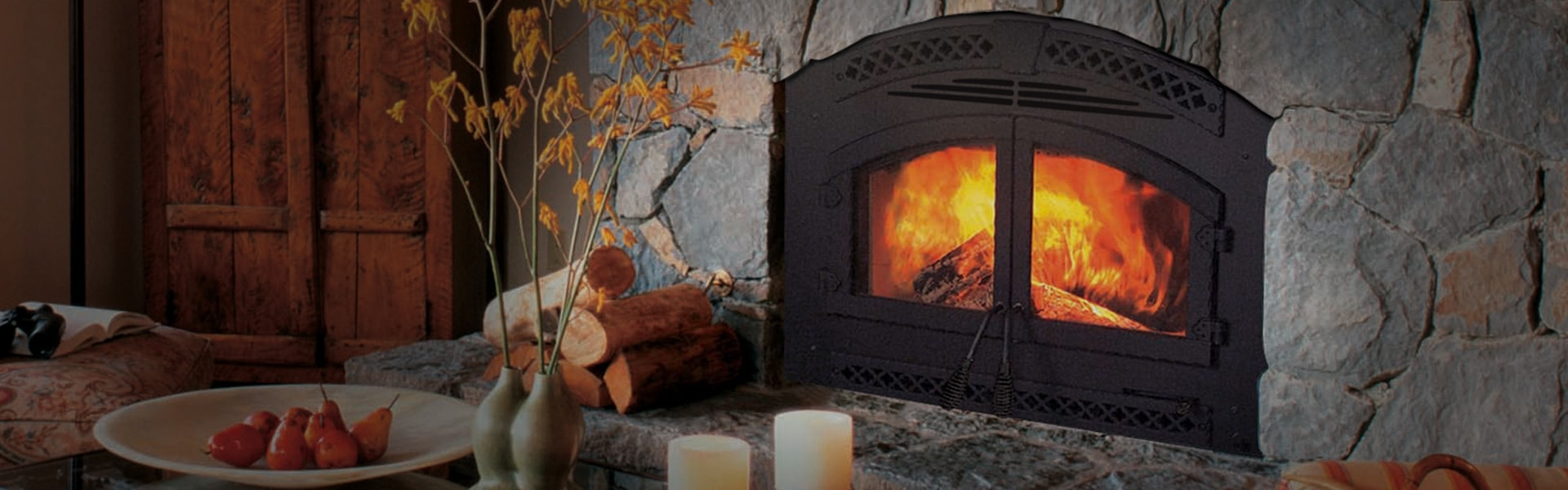 <p>Northstar EPA Certified Wood-burning Fireplace</p>