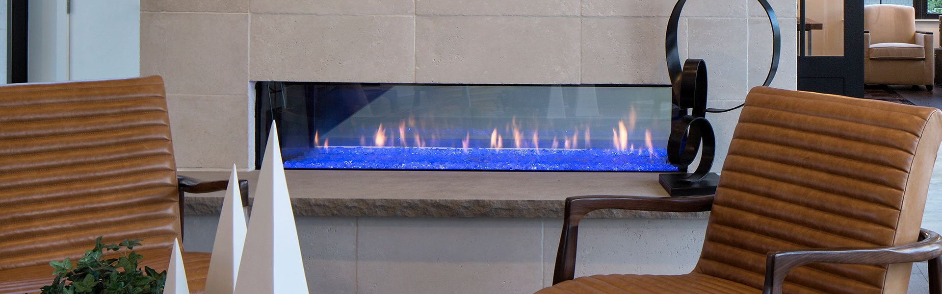<p>PRIMO See-Through Direct Vent Gas Fireplace Series</p>