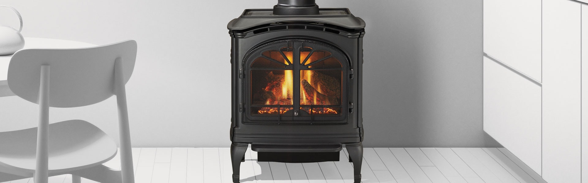 <p>Tiara I Gas Stove in black</p>