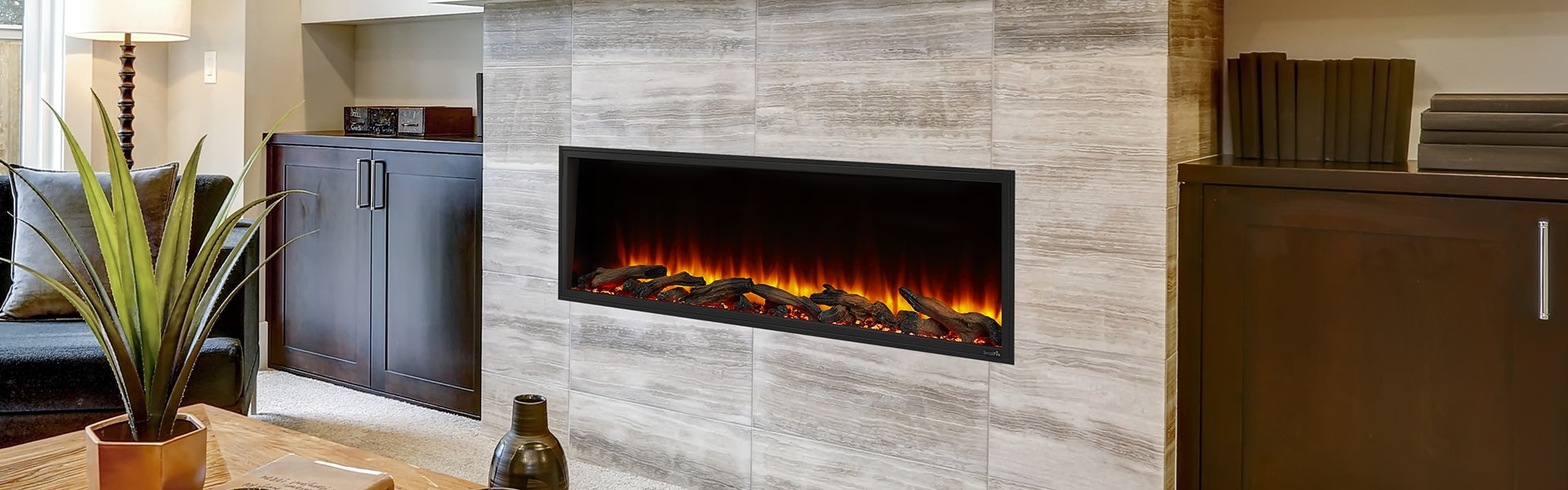 <p>SimpliFire Scion Electric Fireplace</p>