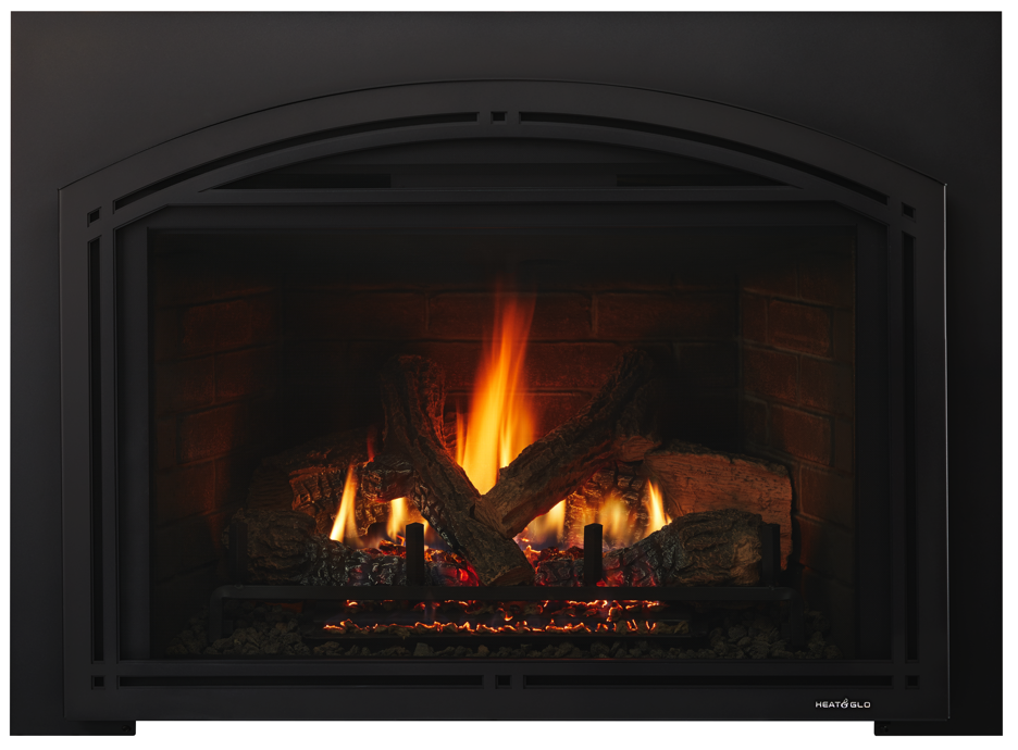 Escape Gas Fireplace Insert